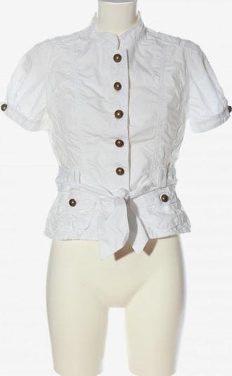 TOMMY HILFIGER Kurzarmhemd in M in weiß, Produktansicht