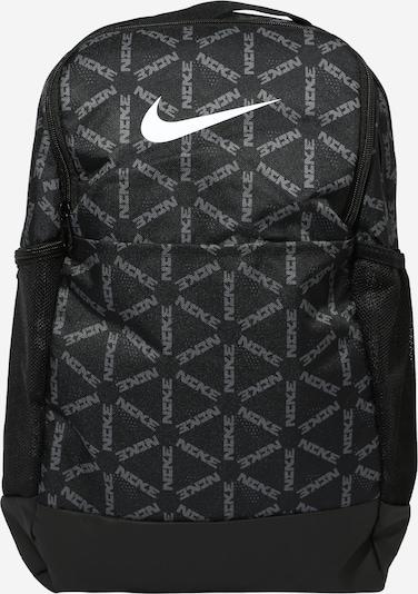 NIKE Sportrucksack 'Brasilia' in schwarz / weiß, Produktansicht