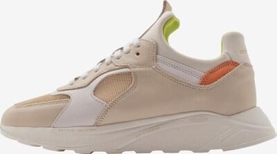 Sneaker low 'LARCH' EKN Footwear pe maro cămilă / corai / alb, Vizualizare produs