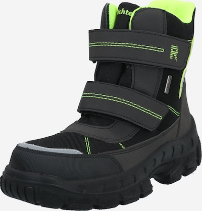 RICHTER Snowboots in de kleur Neongeel / Zwart, Productweergave
