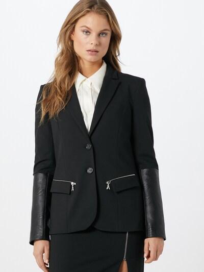 PATRIZIA PEPE Blazer in schwarz: Frontalansicht