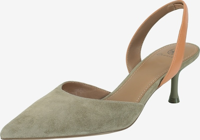 Ekonika Slingpumps in khaki, Produktansicht
