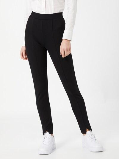 Pantaloni 'Chai' Someday pe negru: Privire frontală