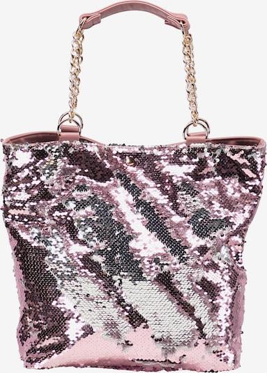 myMo at night Shopper in pink / silber, Produktansicht