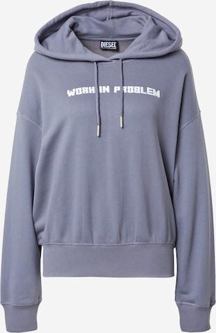 DIESEL Sweatshirt 'MAGDALENA' in Blue