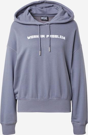 DIESEL Sweatshirt 'MAGDALENA' in Dusty blue / White, Item view