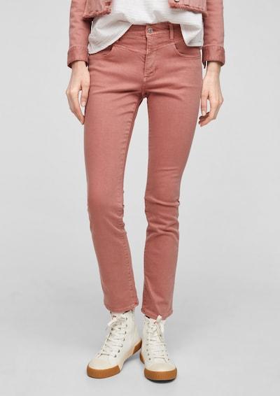 s.Oliver Jeans in de kleur Oudroze, Modelweergave