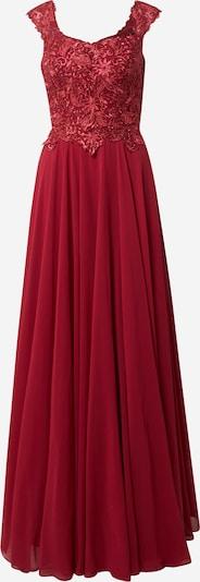 LUXUAR Vestido de noche en rojo vino, Vista del producto