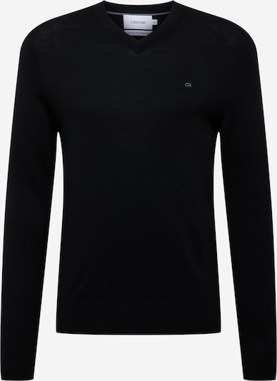 Pulover Calvin Klein pe negru / alb, Vizualizare produs