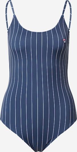 Maudymosi kostiumėlis 'SADINA' iš FILA, spalva – tamsiai mėlyna / balta, Prekių apžvalga