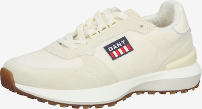 GANT Platform trainers 'Abrilake' in Cream / Navy / Red / Wool white, Item view