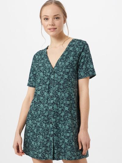 Motel Kleid 'Crosena' in grün / jade, Modelansicht