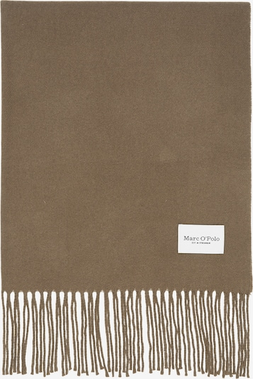 Marc O'Polo Scarf in Camel / Dark brown, Item view