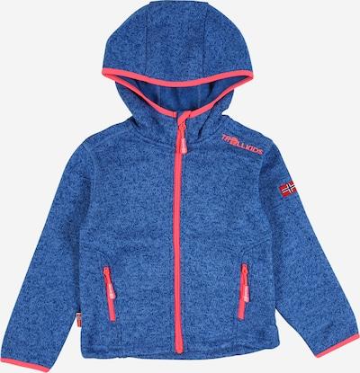 TROLLKIDS Outdoorjas 'Jondalen XT' in de kleur Blauw / Koraal, Productweergave