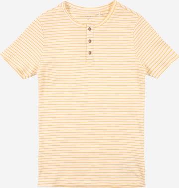 NAME IT T-shirt 'SOLO' i gul