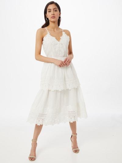 Marella Vasaras kleita 'PELAGO' balts, Modeļa skats