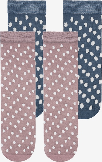 TOO HOT TO HIDE Socken 'SPIFFY SELINA' in blau / rosa, Produktansicht