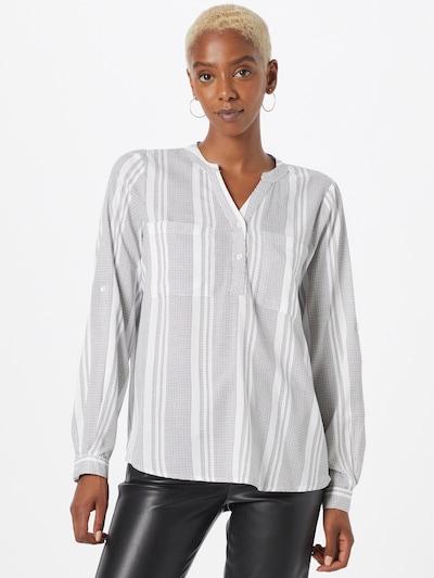 Kaffe Bluse 'Anoral' in schwarz / weiß, Modelansicht