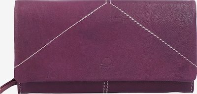 GREENBURRY Portemonnee 'Tumble Nappa' in de kleur Pruim, Productweergave