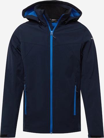 ICEPEAK Outdoorjakke 'Brimfield' i blå