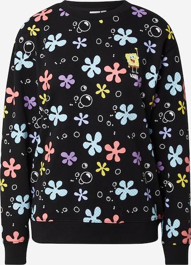 VANS Sweatshirt 'SPONGEBOB ALOHA CREW' in mischfarben / schwarz, Produktansicht
