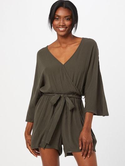 ABOUT YOU Overal 'Jasmin' - tmavě zelená, Model/ka