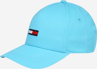 Tommy Jeans Pet in de kleur Nachtblauw / Aqua / Rood / Wit, Productweergave