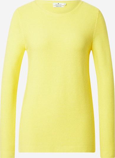 TOM TAILOR Pullover in gelb, Produktansicht