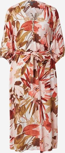 Esprit Collection Kleid 'CVE' in oliv / hellpink / burgunder / weiß, Produktansicht