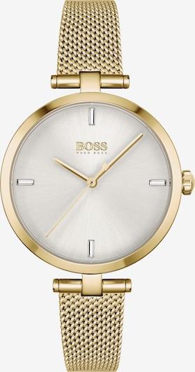 BOSS Casual Montre à affichage analogique 'Majesty' en or / blanc perle, Vue avec produit