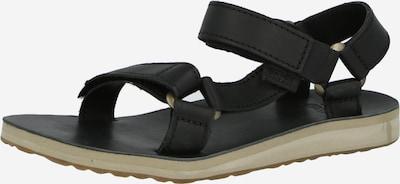 TEVA Sandale en noir, Vue avec produit