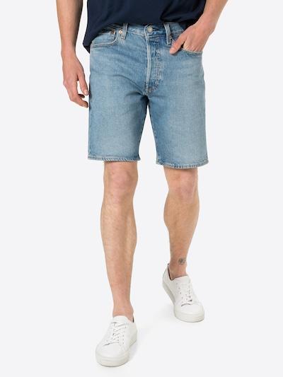 Jeans '501®' LEVI'S pe albastru denim, Vizualizare model