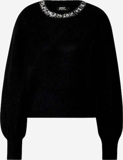 ONLY Pulover 'Elsa' | črna / srebrna barva, Prikaz izdelka
