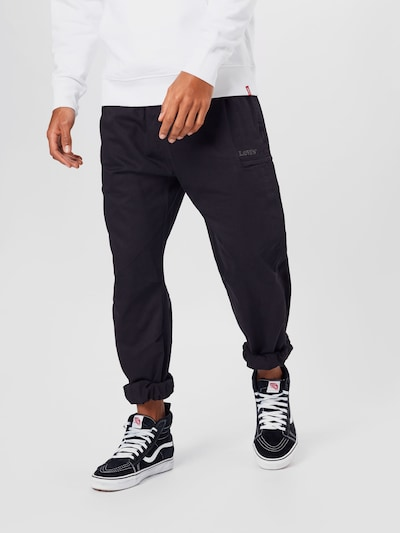 LEVI'S Pantalon en bleu foncé, Vue avec modèle