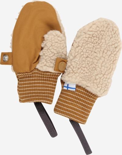 FINKID Gants 'NUPUJUSSI' en beige / sable, Vue avec produit