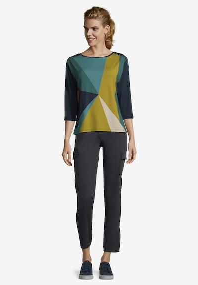 Betty Barclay Casual-Shirt mit Aufdruck in dunkelblau: Frontalansicht