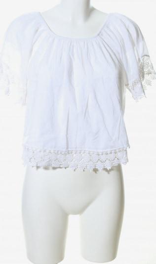Motel Carmen-Bluse in S in weiß, Produktansicht