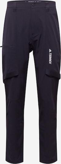 adidas Terrex Sporthose 'Terrex Zupahike' in dunkelblau / weiß, Produktansicht