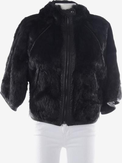 CoSTUME NATIONAL Felljacke in XS in schwarz, Produktansicht