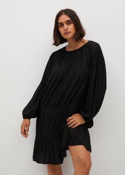 VIOLETA by Mango Kleid in schwarz, Modelansicht