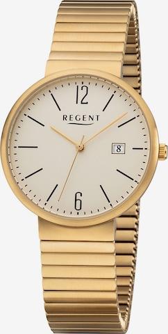 REGENT Uhr in Gold