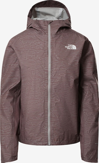 THE NORTH FACE Outdoor Jacket 'PRINT FIRST' in Grey / Purple, Item view