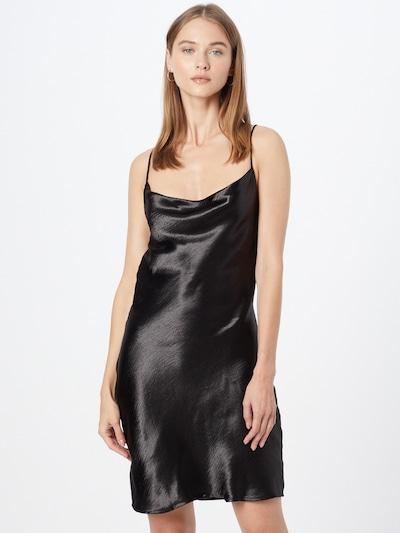 Gina Tricot Jurk 'Minky' in de kleur Zwart, Modelweergave