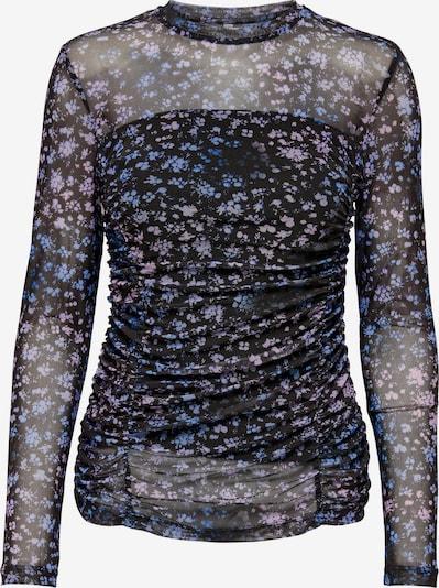 ONLY Shirt 'Ruby' in hellblau / lavendel / schwarz, Produktansicht