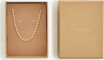 Pilgrim Σετ κοσμημάτων 'Felicia' σε χρυσό