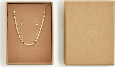 Pilgrim Parure de bijoux 'Felicia' en or / transparent, Vue avec produit