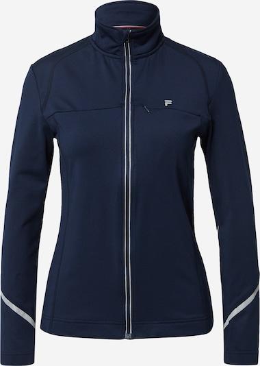 FILA Sportjas 'Anna' in de kleur Donkerblauw / Lichtgrijs, Productweergave