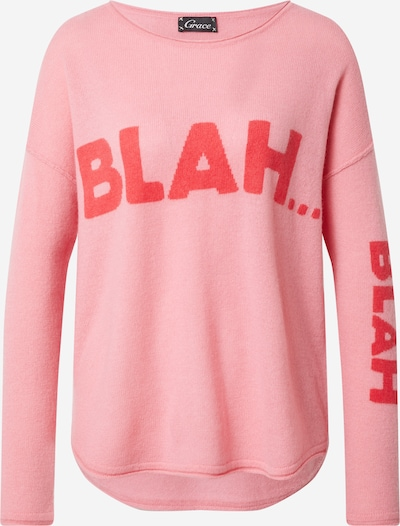 Grace Sweater in Light pink / Red, Item view