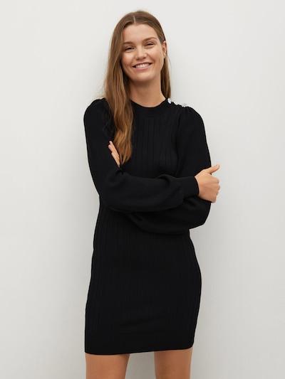 MANGO Kleid 'Heda' in schwarz, Modelansicht