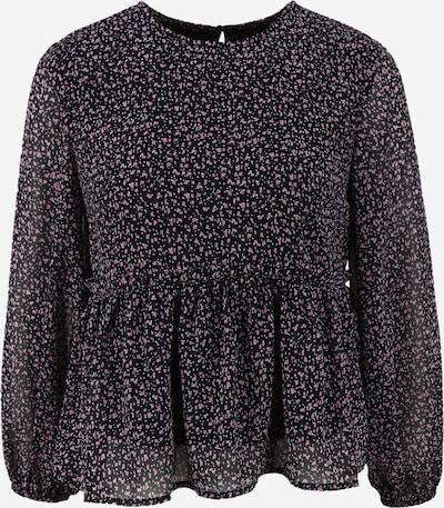 Pieces (Petite) Shirt 'MISTY' in dunkelblau / pink, Produktansicht